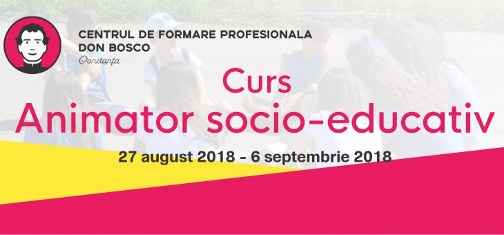 Curs Animator socio-educativ