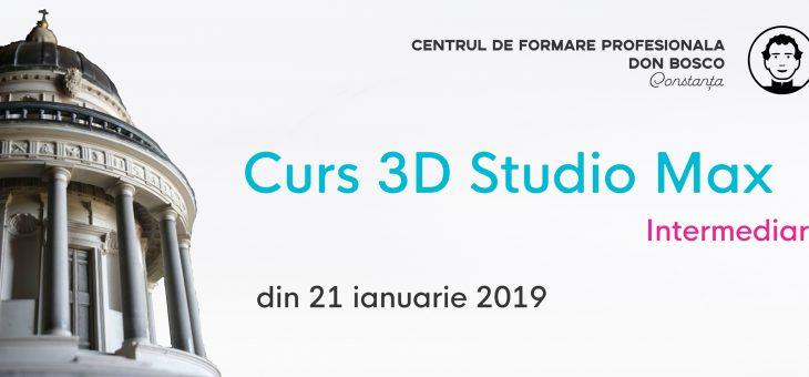 Curs 3D Studio Max Intermediar