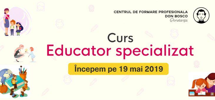 Curs educator specializat